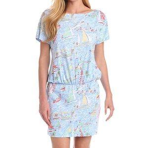 Lilly Pulitzer Get Nauti Carmine Dress Small